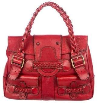 Valentino Leather Histoire Bag