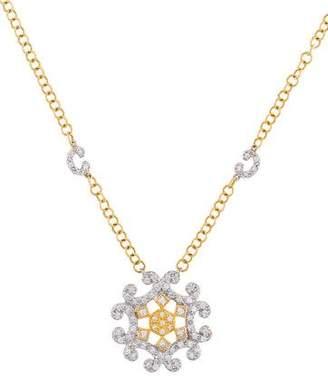 Charriol 18K Diamond Pendant Necklace