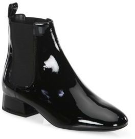 Michael Kors Collection Park Leather Booties