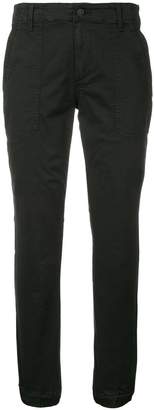 Vince tapered cropped trousers