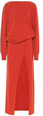 Jacquemus Wool and cashmere-blend dress
