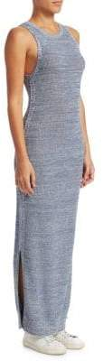Theory Marled Pointelle Prosecco Maxi Tank Dress