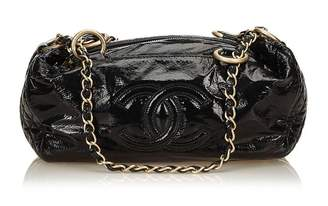 Chanel Vintage Patent Leather Handbag