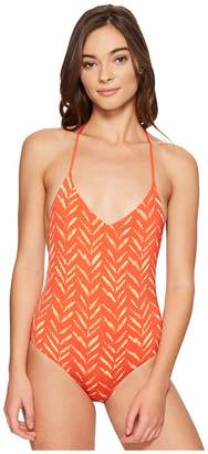 Dolce Vita Tigerlily T-Back One-Piece Women's Swimsuits One Piece