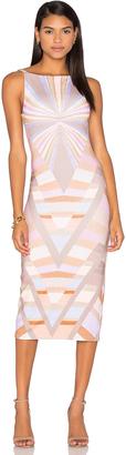 Mara Hoffman Prism V-Back Midi Dress $297 thestylecure.com