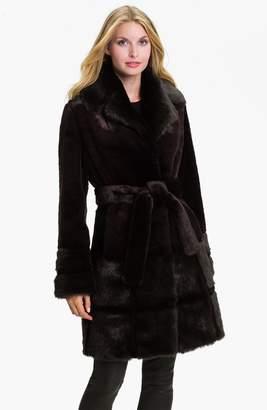 Kristen Blake Sheared Faux Fur Coat