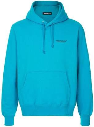Undercover logo print hoodie