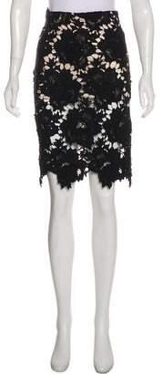 Lover Lace Knee-Length Skirt