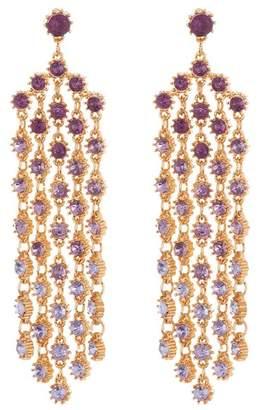 Free Press Ombre Crystal Chandelier Earrings