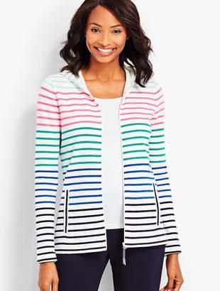 Talbots Everyday Stripe Hoodie
