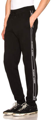 Off-White Stripe Sweatpants