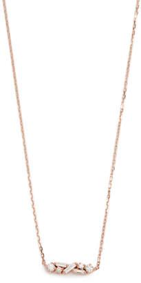 Suzanne Kalan Fireworks 18k Gold Diamond Necklace