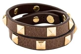 Tory Burch Pyramid Stud Wrap Bracelet