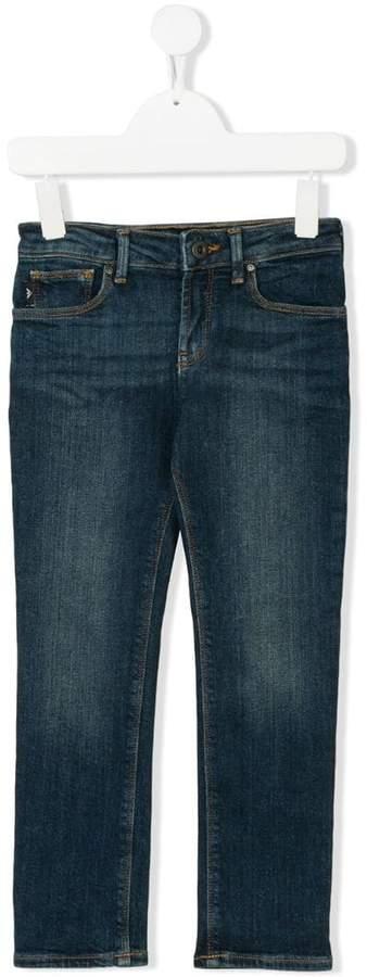 Emporio Armani Kids 8N4J061V0MZ0941 BLUE Natural (Veg)->Cotton