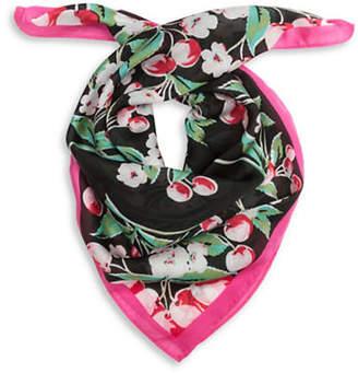 Collection 18 Cherry Floral Bandana