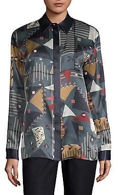 Lafayette 148 New York Women's Sabel Silk Blouse
