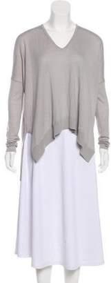 Helmut Lang Casual V-Neck Sweater