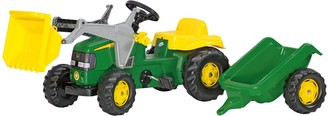 Kettler John Deere Kids' Tractor with Trailer Ride-On