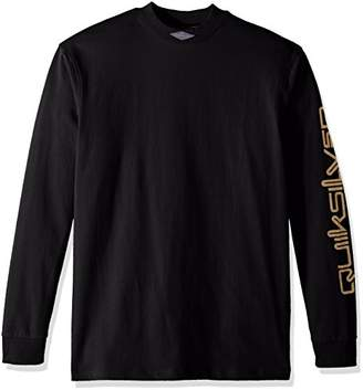 Quiksilver Men's Long Sleeve Print Mad Wax