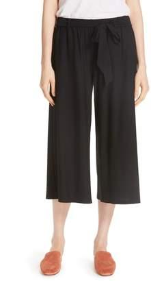 Eileen Fisher Wide Leg Crop Knit Pants