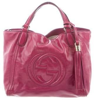 Gucci Small Soho Convertible Tote Pink Small Soho Convertible Tote