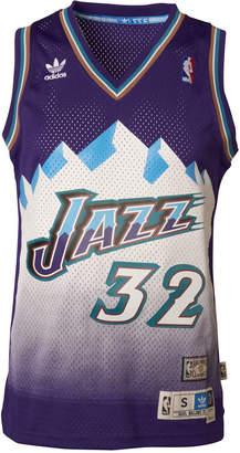 adidas Men's Karl Malone Utah Jazz Swingman Jersey