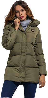 Wicky LS Young Ladies' Hooded Dnow Winter Coat Slim Fit L