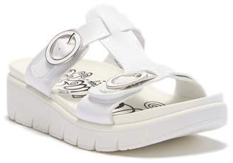 Alegria by PG Lite Playa Duo White Patent Platform Sandal