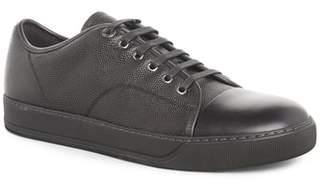 Lanvin Pebbled Cap Toe Sneaker