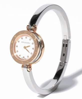 Bvlgari ブルガリ ブルガリ) 腕時計 BZ23WSGS/12MユニセックスホワイトパールF【 】