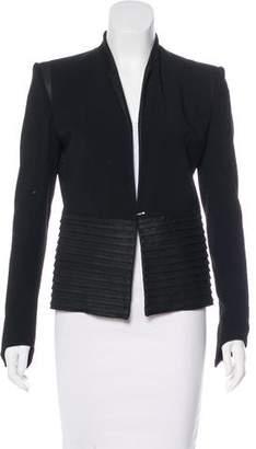 Helmut Lang Structured Long Sleeve Jacket
