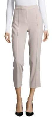 Elie Tahari Front Seamed Cropped Ankle Pants