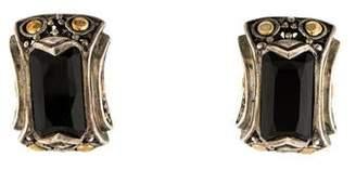 John Hardy Two Tone Earclip Earrings