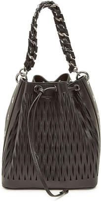 Sonia Rykiel Le Baltard Leather Bucket Bag