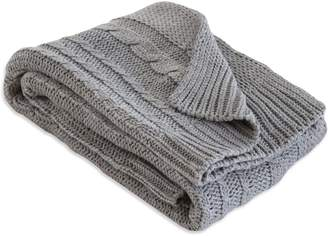 Burt's Bees Organic Cable Knit Organic Baby Sweater Blanket