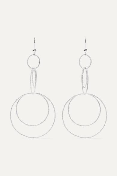 Carolina Bucci - Florentine 18-karat White Gold Earrings