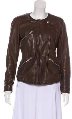 Etoile Isabel Marant Lightweight Leather Jacket
