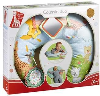 Vulli Sophie the Giraffe Baby Sleep & Play Cushion.