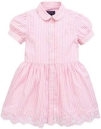Ralph Lauren Stripe Shirt Dress