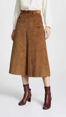 See by Chloe Cropped Wide Leg Pants