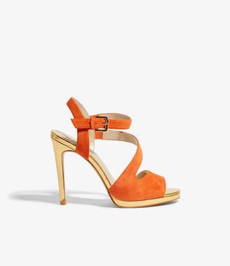 Karen Millen Suede Strappy Heels