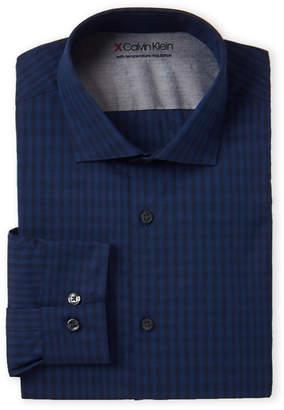 Calvin Klein Extreme Slim Fit Stripe Dress Shirt