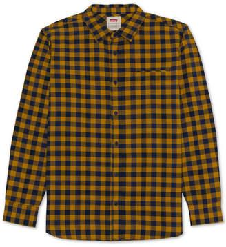 Levi's Men's Prato Plaid Oxford Shirt
