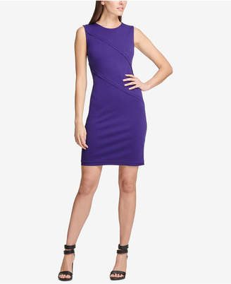DKNY Ponte-Knit Sheath Dress, Created for Macy's