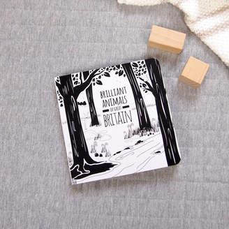 The Little Black & White Book Project Brilliant Animals Of Great Britain Board Book