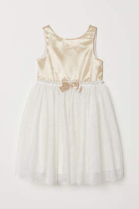 H&M Tulle Dress - Gold
