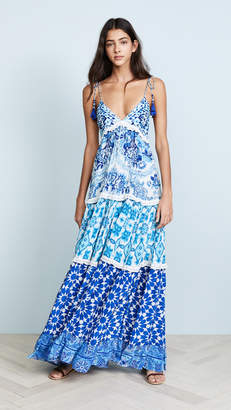 Rococo Sand Oriental Labyrinth Dress