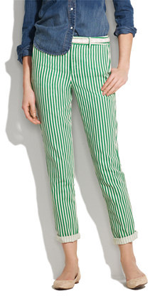 Madewell Bungalow stripe trousers