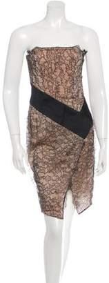 Alexandre Vauthier Lace Bustier Dress w/ Tags