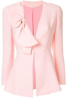 DELPOZO bow-detail fitted jacket